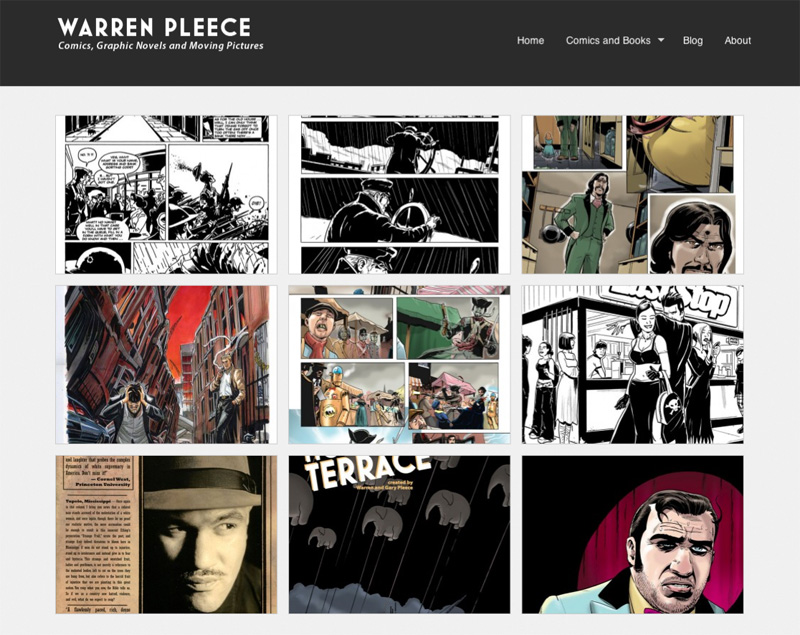 Link to warrenpleece.com website